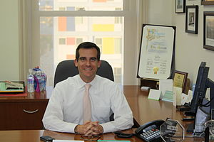 Eric Garcetti - Garcetti in December 2009.