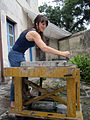 Ericka walker graining litho stone.jpg