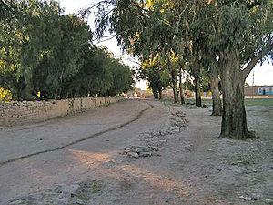 Erigavo - Pathway in old Erigavo.