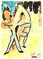 Ernst Ludwig Kirchner - Bogenschützen auf dem Wildboden -1935-37.jpg
