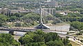 Esplanade Riel Bridge, Red River, Winnipeg (501336) (14825114190).jpg