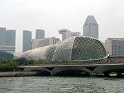 Die Konzerthalle am Singapur River: Die Esplanade