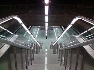 Seville Metro - Plaza de Cuba station