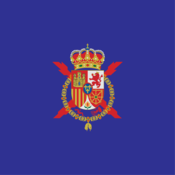 The Standard of the King of Spain.