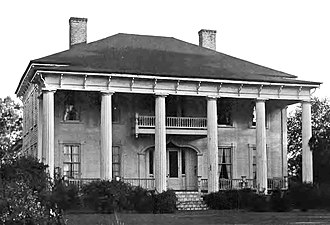 National Register of Historic Places listings in Brooks County, Georgia - Image: Eudora Plantation, Brooks County, GA, US