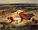 Eugène Delacroix - Brigand blessé (ca. 1825).jpg