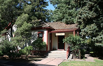 Eugene Field -  Eugene Field House, in Denver, Colorado, is on  the National Register of Historic Places