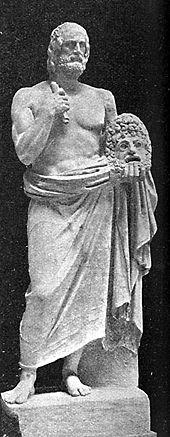 φωτογραφία αρχαίου αγάλματος