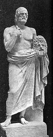 Euripides, Vatican Museum.