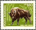 European bison on stamps Romania 1968.jpg