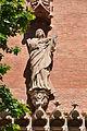 Eusebi Arnau- santa Eulàlia. Pavelló de l'administració de l'Hospital de Sant Pau. Barcelona. (9553882198).jpg