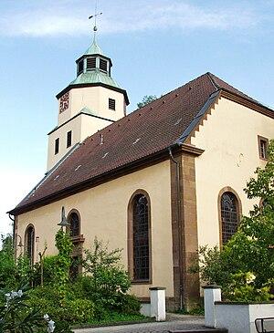 Plüderhausen - St. Margaret's Evangelical Church from 1804