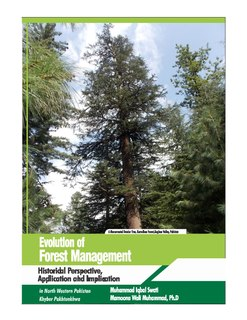 Forest management branch of forestry