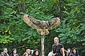 Exhibicion de aves rapaces-Monasterio de piedra.JPG