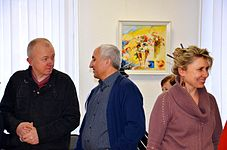Exhibition of Spartak Arutunyan in Minsk 22.03.2015 08.jpg