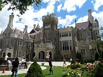 Casa Loma - Exterior of Casa Loma in 2012