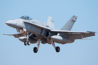 Finnish Air Force - A Finnish F/A-18
