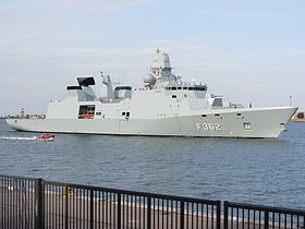 HDMS Peter Willemoes (F362) im August 2012