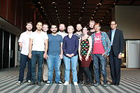 FDC at Wikimania 2015 + others.jpg