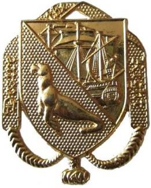 Falkland Islands Defence Force - FIDF Cap Badge