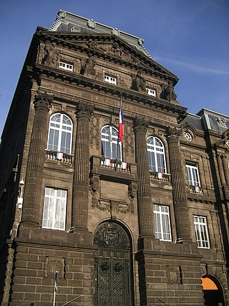 Puy-de-Dôme - Prefecture building of the Puy-de-Dôme department, in Clermont-Ferrand