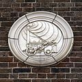 Facade plaque Margate railway station Kent England 1.jpg