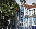 Facade with Fountain - Varna - Bulgaria (28287238707).jpg