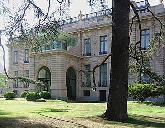 Evita Fine Arts Museum - The Ferreyra Palace, site of the museum.