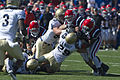 Falcons on offense at Navy at Air Force 2010-10-02 3.JPG