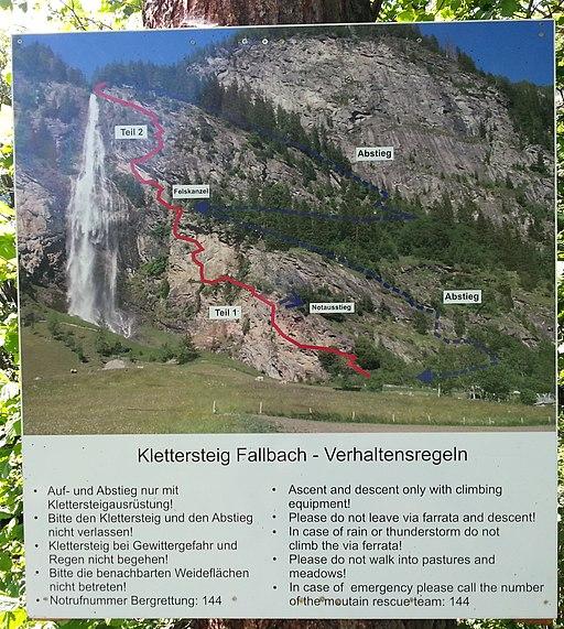 Fallbach Klettersteig 1