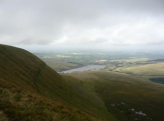Fan Gyhirych mountain in the United Kingdom