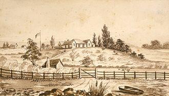 Thomas Bartley (politician) - The farm of Thomas Bartley on the North Shore