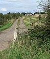 Farm track along Harby Lane - geograph.org.uk - 962968.jpg