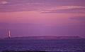 Faro e Isla de Lobos - Vista desde Punta del Este al momento del ocaso..jpg