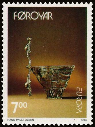 Hans Pauli Olsen - Image: Faroe stamp 239 hans pauli olsen