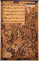 Farrukh chela (attr.), il cane avido, india mogul, 1590 ca., 01.jpg