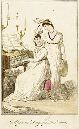 Fashion Plate (Afternoon Dress for Decr. 1800) LACMA M.86.266.37