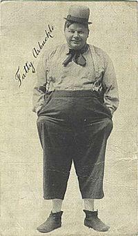 ロスコー・アーバックル(1919) 新米活動屋(活動狂) A Film... ロスコー・アーバッ