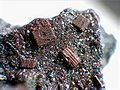 Fayalite crystal group - Ochtendung, Eifel, Germany.jpg