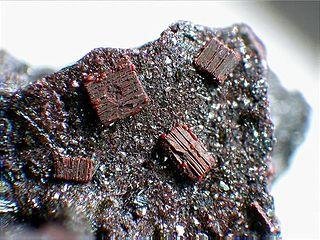 Fayalite olivine, nesosilicate mineral