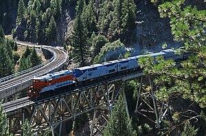Spanish Creek (Plumas County, California) - Keddie Wye bridges at Spanish Creek Canyon