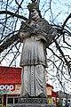 Fehérgyarmat, templomkerti Nepomuki Szent János-szobor 2021 05.jpg