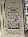 Feignies (Nord, Fr) église, chemin de croix, station 02.JPG