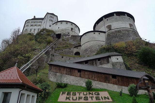Orgel der Festung Kufstein