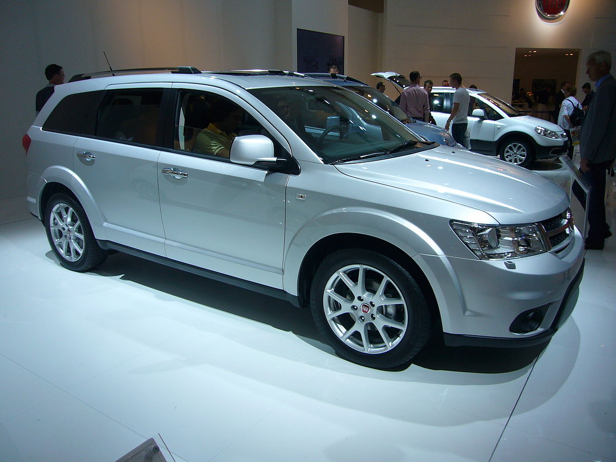 2016 Dodge Journey >> Fiat Freemont - Wikipedia