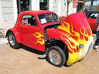 Fiat Topolino hotrod