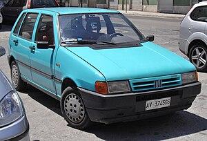 Fiat Uno - Image: Fiat Uno II