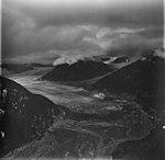 Field Glacier, terminus of valley glacier, August 23, 1976 (GLACIERS 5224).jpg