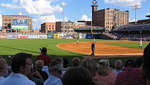 Downtown Toledo - Fifth Third Field