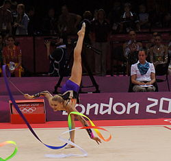 FileBelarus in Rhythmic gymnastics at the 2012 Summer Olympics.jpg